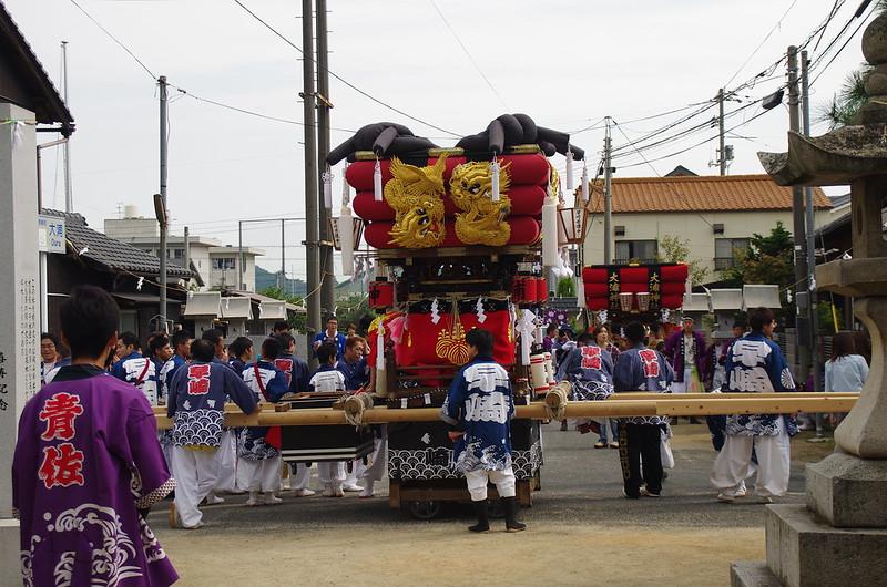 大浦神社(昼競馬) #2