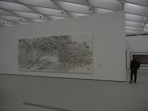 DSCN0335 _ Cairo, 2013, Julie Mehretu, Broad Museum, LA