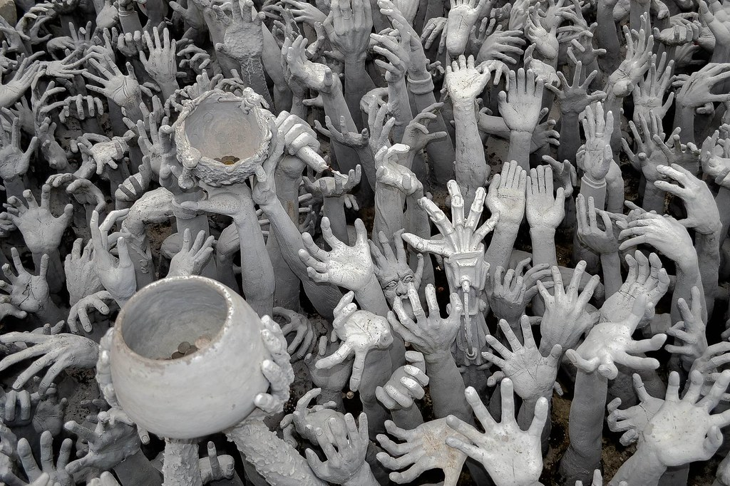 World Food Week: Hands with clay