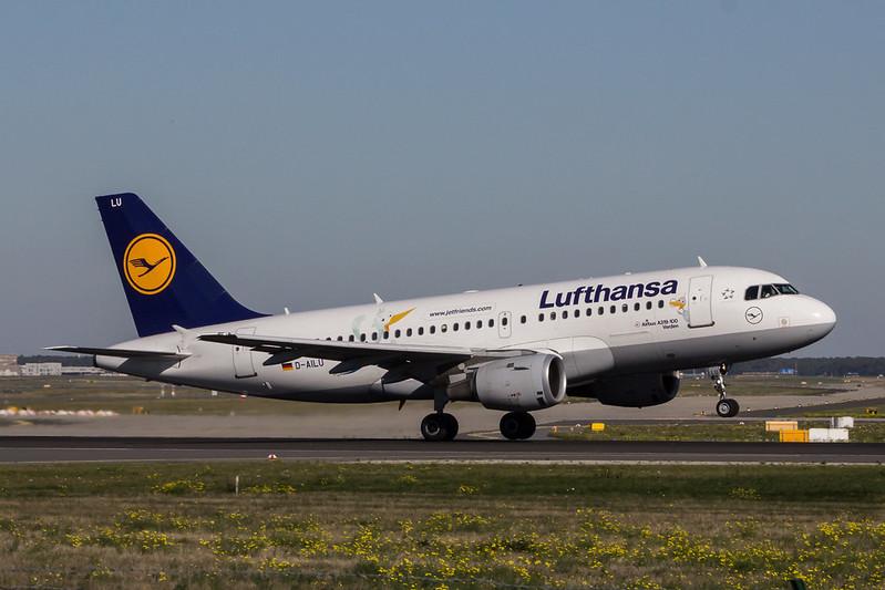 Lufthansa (Lu Livery) A319 D-AILU