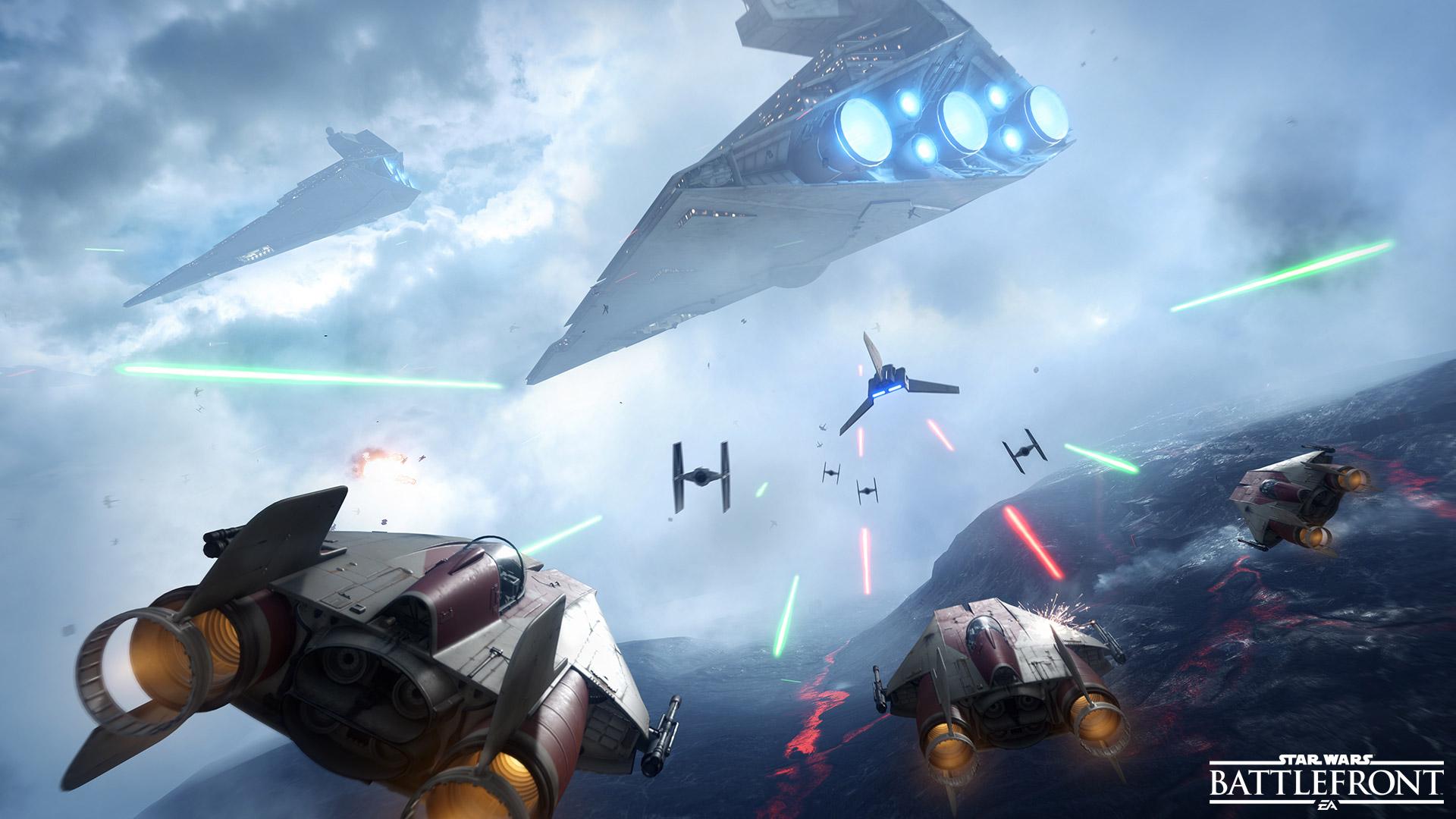 Kesan Bermain Star Wars : Battle Front Beta 5
