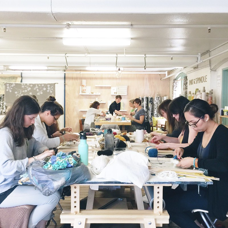 Weaving Workshop October