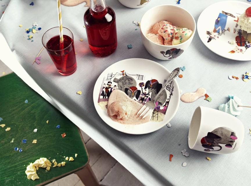 Kleines Karusell - kids plates&cups