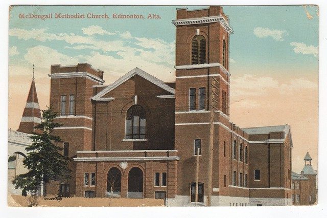 McDougall Methodist Church, Edmonton, Alberta