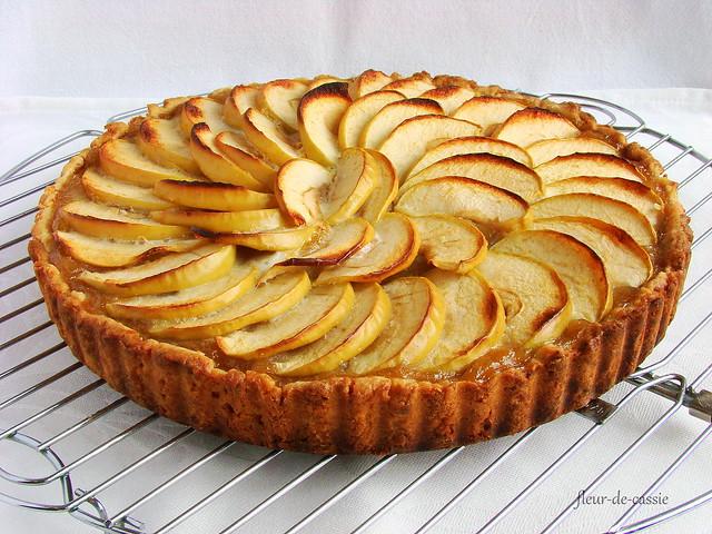 нормандский яблочный пирог 2