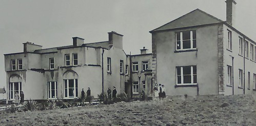 The exterior of the Stella Maris Domestic Science School, Bundoran, established in 1949. It closed in 1973
