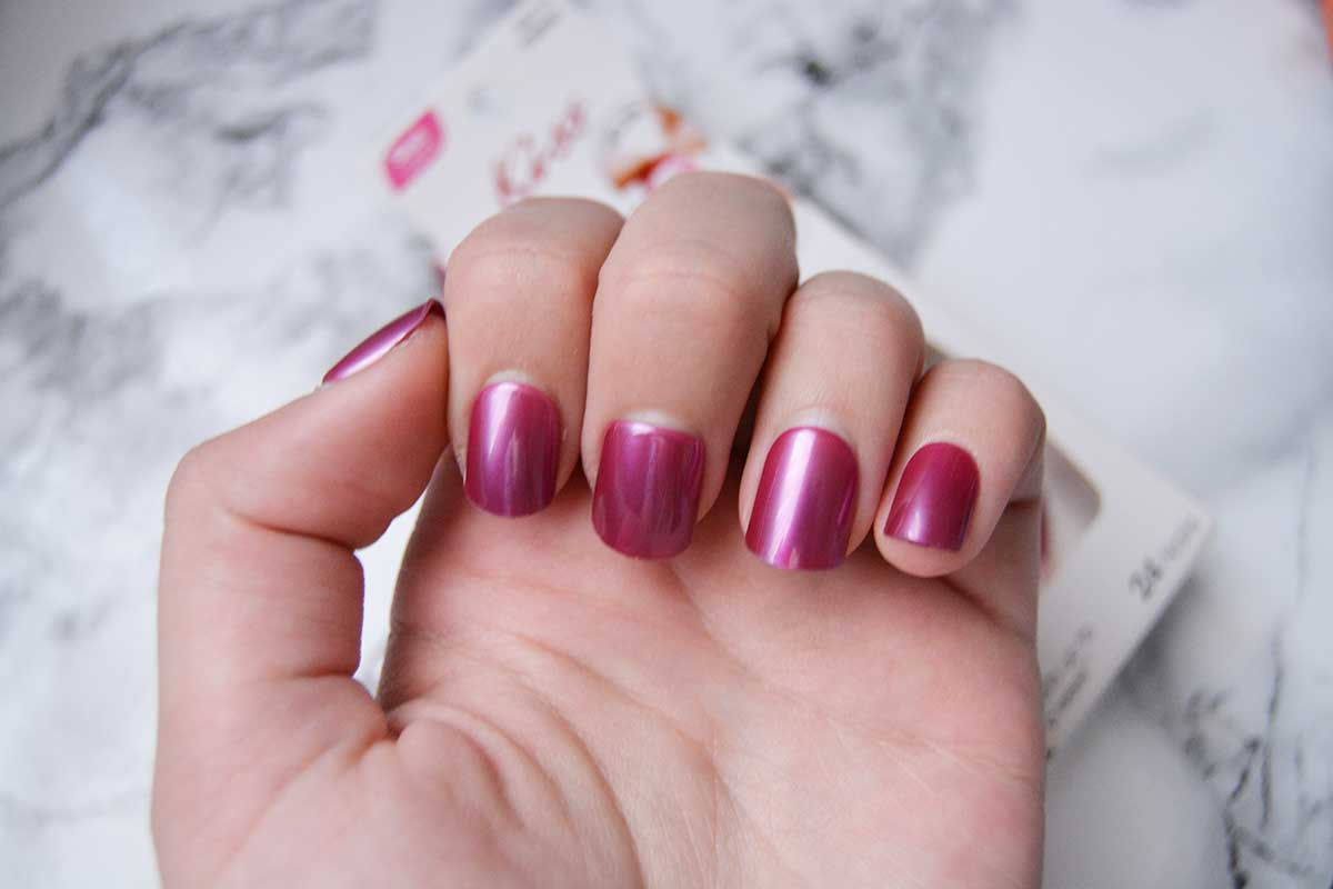 Mani without the money: Kiss press on nails review