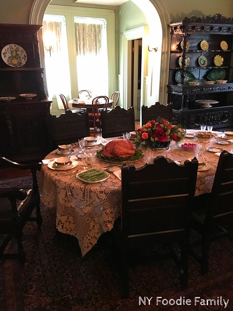 Dining Room in FDR Home