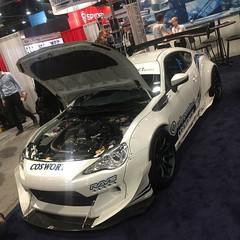 From the @cosworth_official booth at sema  #sema2015 #cosworth #brz #frs