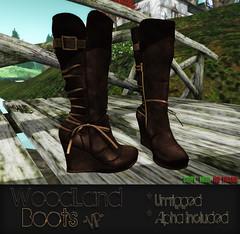 WoodLand Boots VIP Ad