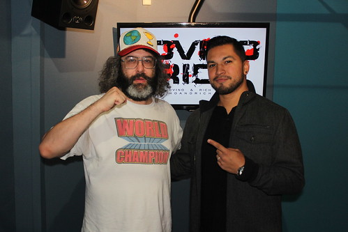 Judah Friedlander returns to the Covino & Rich Show