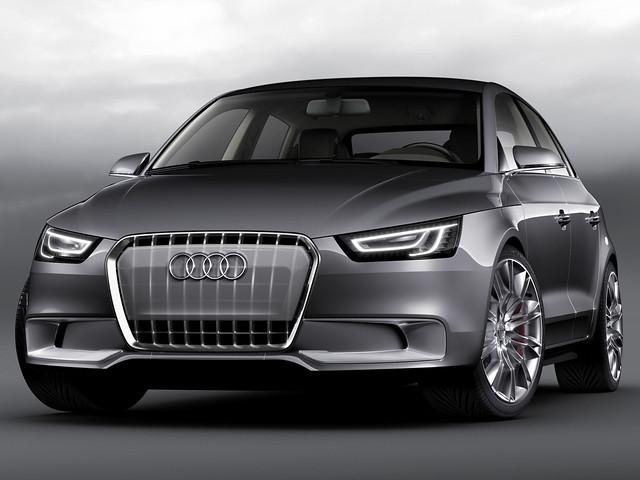 Концепт Audi A1. 2008 год