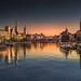 Zurich pink to blue by Pietro Faccioli