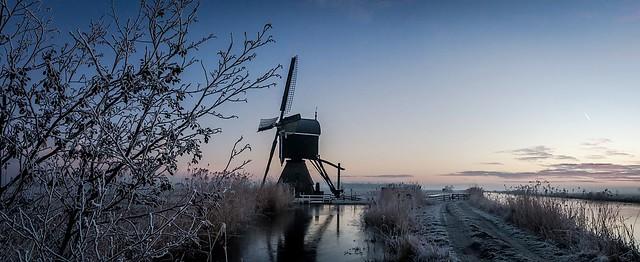 Frozen polder