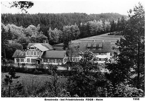 Ernstroda - FDGB - Heim 1958
