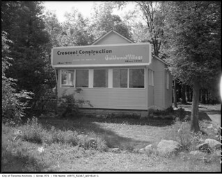 Crescent Construction office, Guildwood Village