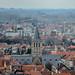 Sint-Gilliskerk en omgeving, vanaf het Belfort gezien - Brugge