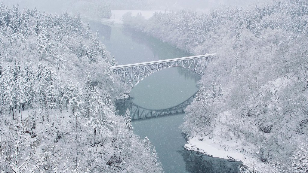只見線_第一鐵橋