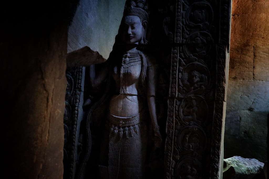 Hidden Apsara In Preah Khan