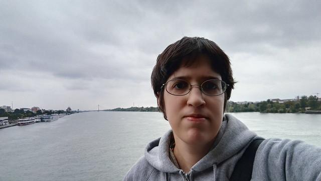Selfie mit der Donau