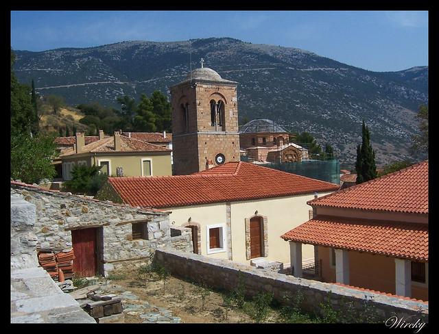 Grecia Delfos Osios Lukas Kalambaka - Monasterio de Osios Lukas