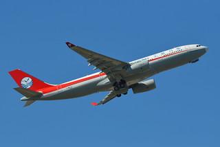 A.330-200 SICHUAN AIRLINES F-WWCQ 1662 TO B-8332 25 08 15 TLS