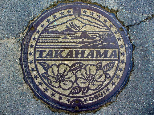Takahama Fukui, manhole cover 3 (福井県高浜町のマンホール3)