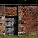 walled garden gate by ewjz31