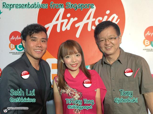 AirAsia Blogger Community 2015 Singapore Bloggers