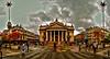 Brussels, Belgium. Bourse van Brussel / Bourse de Bruxelles  | August 2015. by templab