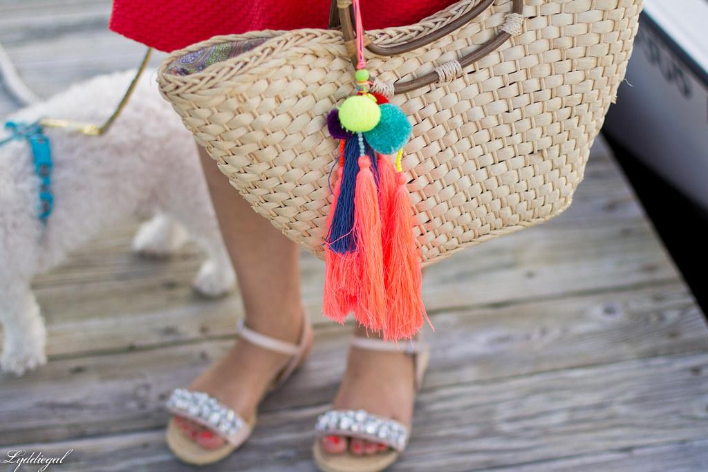Orange sundress, straw tote, jeweled sandals-7.jpg