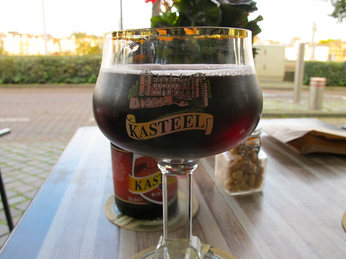 I went with one of my favs: Kasteel Rouge.