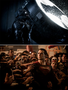 「バットマン vs スーパーマン」初出し写真