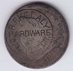 R. F. Killaly Counterstamp obverse