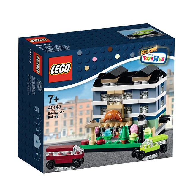 LEGO ToysRUS Exclusive 40143 - Bricktober Bakery