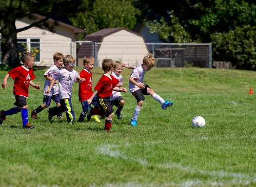 Will's first soccer game