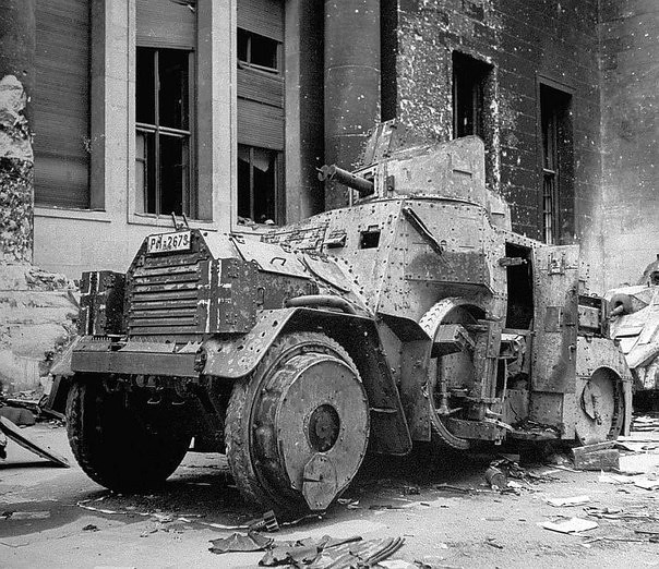 Sd.Kfz. 3 in Berlin. May 1945