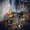First #Ascent Out by @davidlama_official at the beautiful #Baatara #Gorge in #Lebanon #Climbing #RockClimbingLebanon #Balou3Bal3a || Full Story link #AvAAtara http://goo.gl/NZC90F by roy.mrad