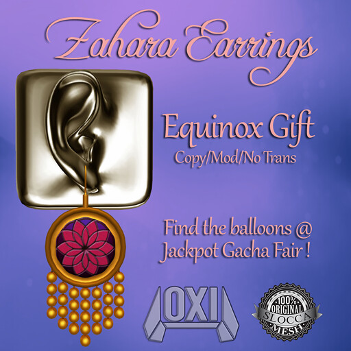 Zahara Earrings - Equinox Hunt Gift