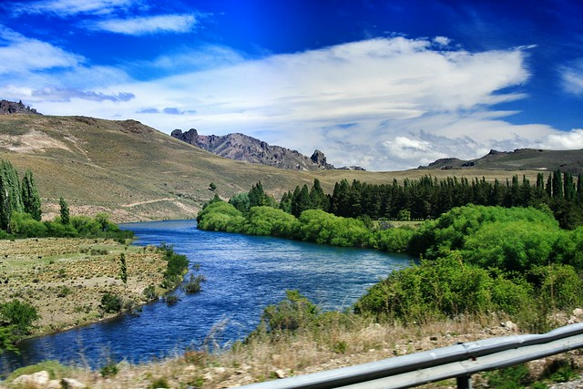 Patagonia roads and colours. Rio Limay. Neuquen, Patagonia Argentina. Unykaphoto Patagonia Argentina Neuquen Rio Limay Edge Of The World Argentina