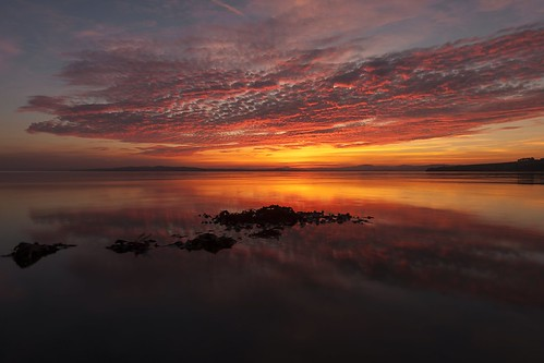 Inch Island sunset by Greg Clarke