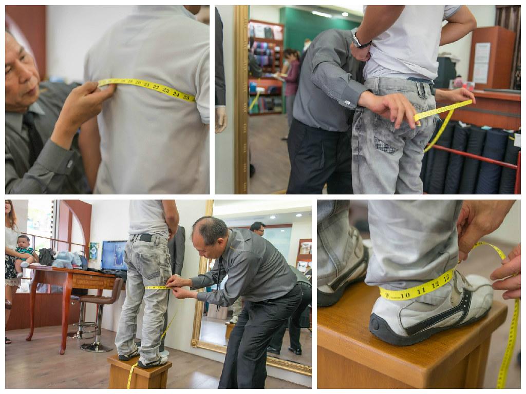 第一次到訪高雄拿破倫手工西服店,我終於明白高武雄師傅被高雄在地人推薦的原因了!01 (2)