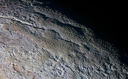 'Snakeskin' Pluto