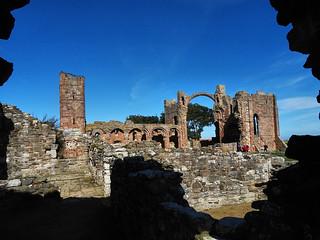 Lindisfarne Priory Ruins 10