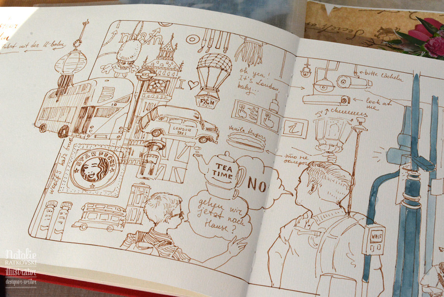Quick sketches in London