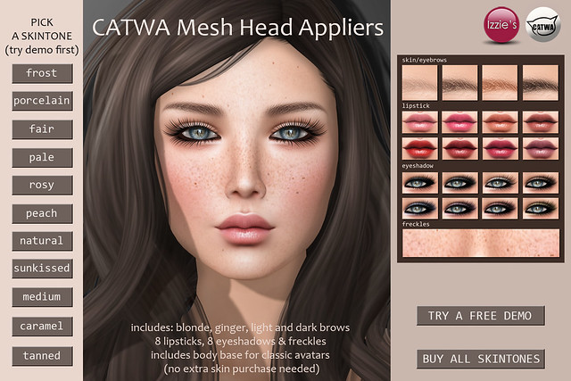 Taleah skin applier for Catwa out now!
