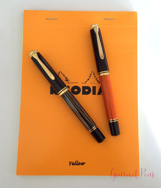 Review Pelikan Souverän M800 Burnt Orange Fountain Pen @AppelboomLaren (16)