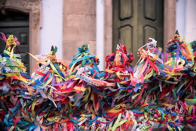 Fitinhas do Senhor do Bonfim na Igreja do Rosário dos Pretos by Uiler Costa