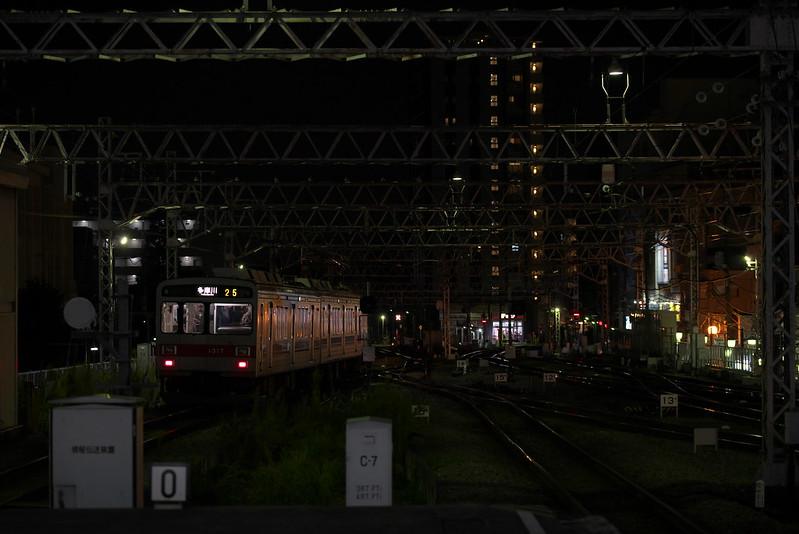 Tokyo Train Story 東急多摩川線 2015年10月12日