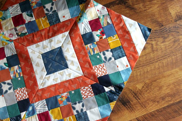 Criss Cross Diamond Quilt for Craftsy!